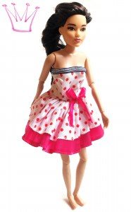 barbie-kleid-pink-dots